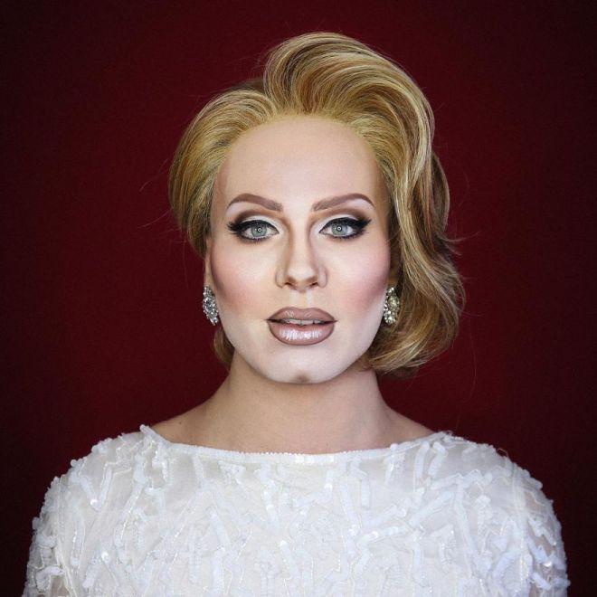 Alexis Stone kot Adele (Foto: IG @thealexisstone)