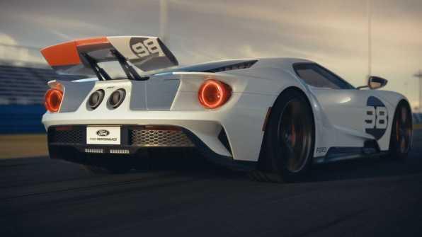 Jasno je, da gre za ljubezen na prvi pogled! Ford GT
