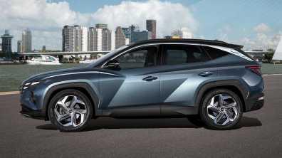 Hyundai Tucson je bil razvit v skladu z novo oblikovalsko identiteto podjetja 'Sensuous Sportiness'.