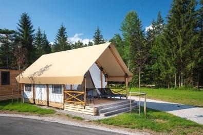 Safari šotor - River Camping Bled