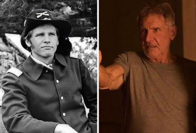 Harrison Ford v filmu Čas za ubijanje (1967) in v Krvavi ropar 2049 (2017).