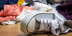 Rotete rom og sko