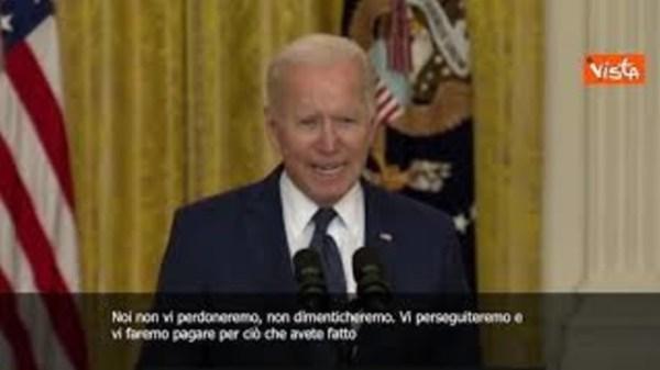 """attentato-kabul,-biden:-""""non-vi-perdoneremo"""""""