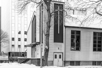 Augustana Lutheran Church. Photographed by Hilary McDonald. Do not Reproduce.