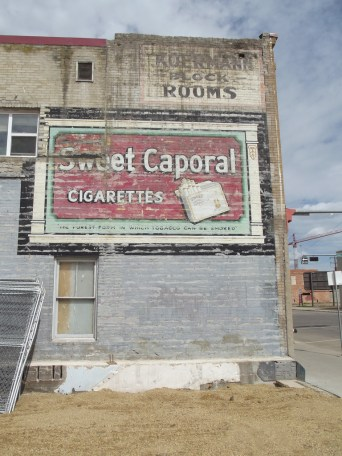 """old ad on 96 st edmonton."" Photo by Flickr user Jasonwoodhead23 © May 2011 Creative Commons License - https://flic.kr/p/9VpZ6m"