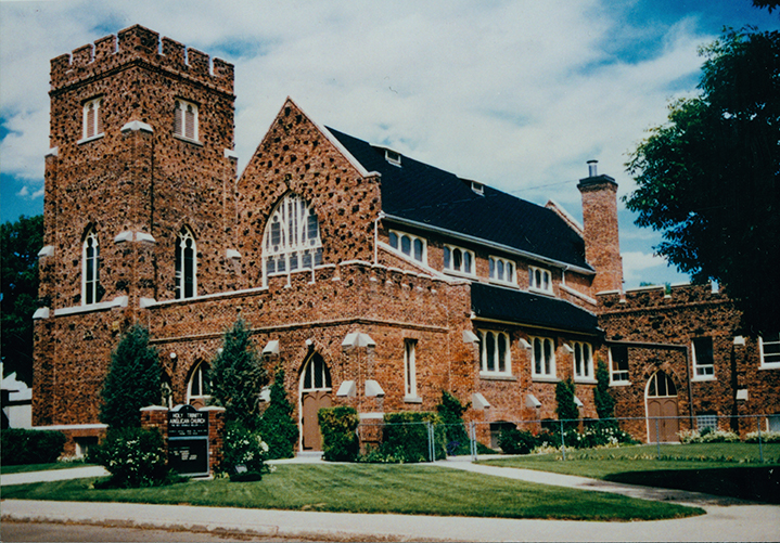 Holy Trinity Anglican Church, 1997. Image courtesy of City of Edmonton Archives EA-596-44.