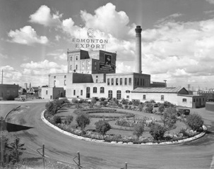 Sick's Brewery, August 26, 1949. City of Edmonton Archives, EA-600-2799j.