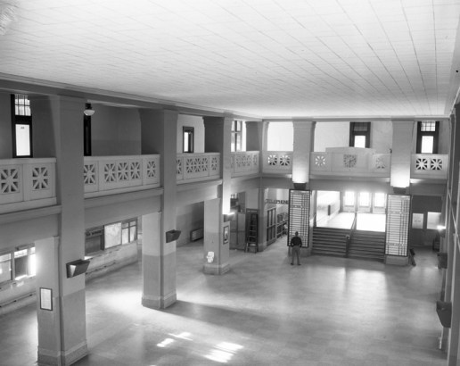 erior, CNR station, August 22, 1950. City of Edmonton Archives, EA-600-4920f.