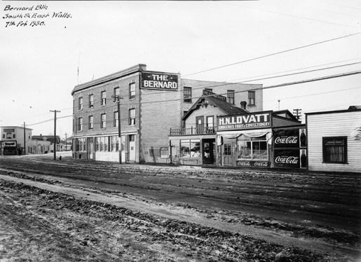 H.N. Lovatt Grocery & Confectionary Store, 9328 Jasper Avenue c. 1930. Photo courtesy of the City of Edmonton Archives EA-75-368.