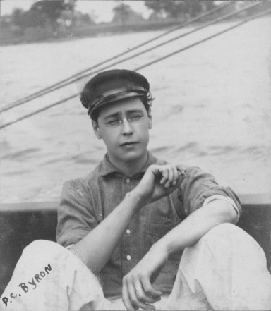 Percy C. Byron, circa 1909. City of Edmonton Archives, EB-23-96.