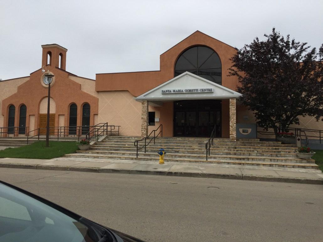 Santa Maria Goretti Centre. Image courtesy of Adriana A. Davies.