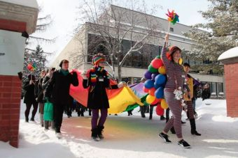 Photos courtesy of UofA Pride Week