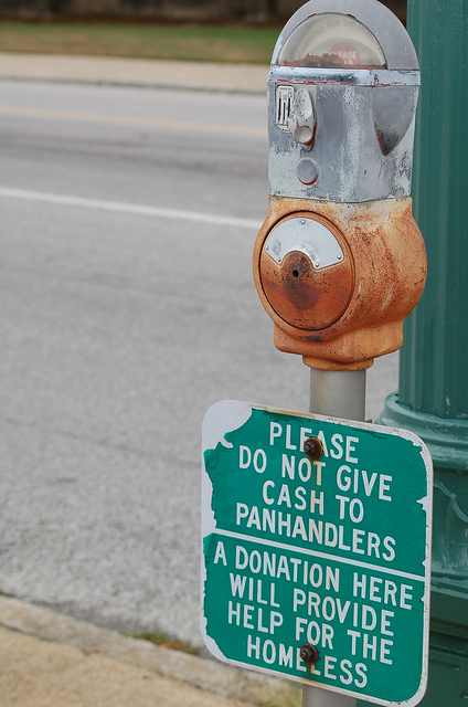 """A """"charity meter"""" from Memphis, Tenessee. Photo by Flickr user Memphis CVB © 2011 Creative Commons License https://flic.kr/p/aFaNSi"""