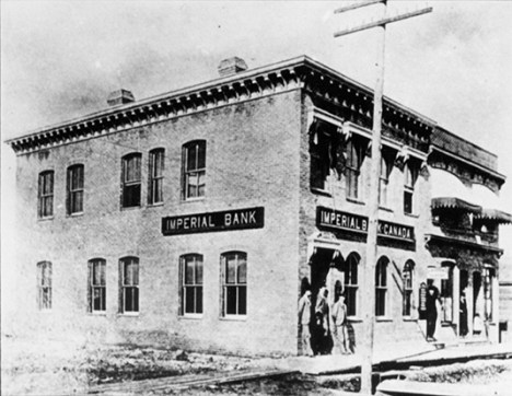 Imperial Bank of Canada, 1893. City of Edmonton Archives, EA-180-2