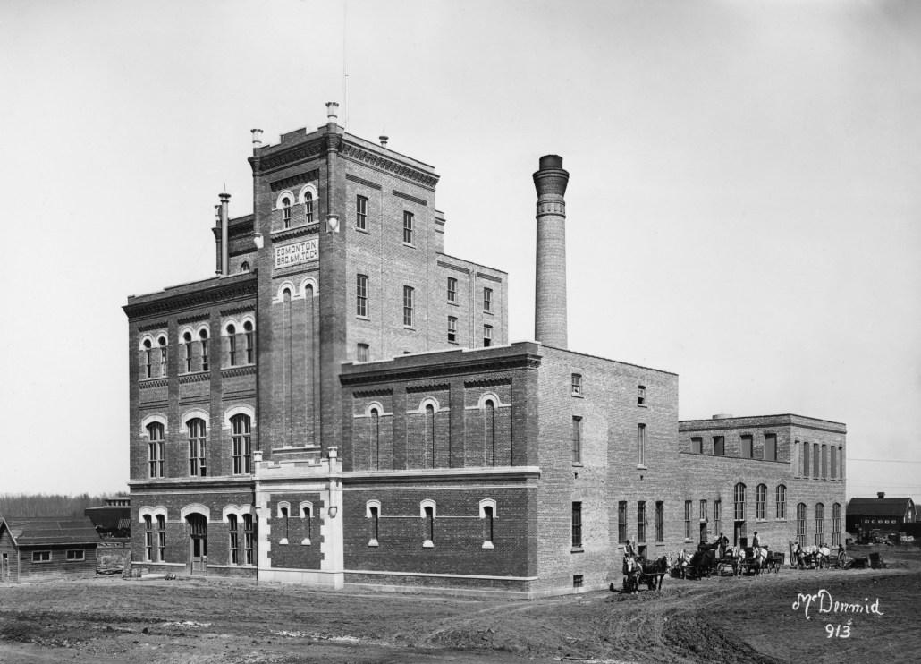Edmonton Brewing and Malting Company, Edmonton, 1914. Glenbow Archives, NC-6-913.