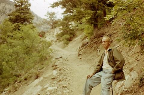 Wop May's last photo, Utah, 1952.