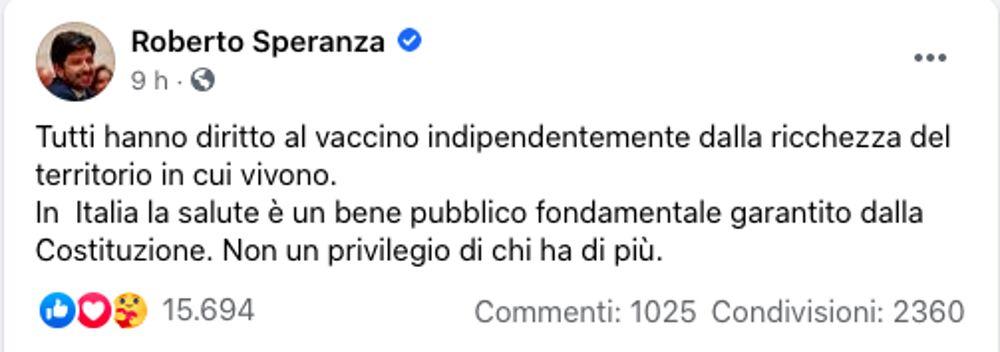 speranza vaccini morratti-2