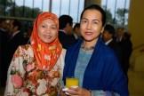 Norzana Hashim and Shireen Sulaiman