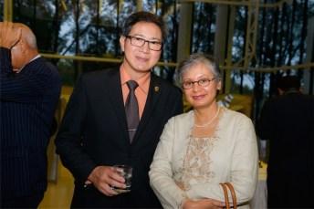 Prof Ronny Noor and Kusuma Habir