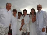 Leroy and Shirley Stewart, Reshmi Cox-Brogan, Maureen Hancock, Shirlee Wilkinson and Graeme Shore.