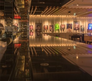 Inside the QT Hotel's new Capitol Bar & Grill. Photos by Gary Schafer