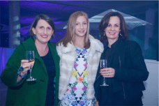 Kate Wiseman-Taylor with Sophie Doherty and Vicki Meyers