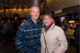 Peter Foster and Sheryn Vickery