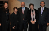 Larissa Behrendt, Lady Cosgrove and Governor General Sir Peter Cosgrove and Rosanna and John Hindmarsh