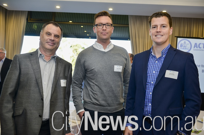 Socials / At ACT Training Fund annual breakfast, Federal Golf Club