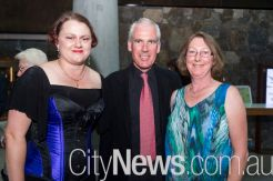 Suzannah Ridley, Tom McGuiness and Kris Brown