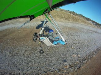 Take off from Jindabyne