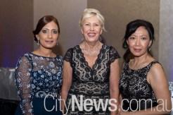 Sophie Umar, Debbie McMillan and Liza Loi