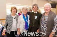 Dot Dickson, Janet Campbell, Claudia Hyles and Margaret Erickson