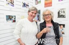 Elaine Hargreaves and Rosemary Murphy