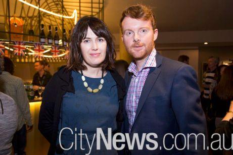 Julia O'Brien and Fraser Drummond