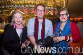 Mary Eagle, Gordon Bull and Deborah Clark