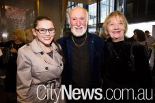 Bethany Hewitt, Bill Stephens and Michelle Potter