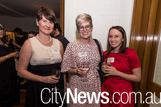 Andrea Taylor, Lucy Hutchens and Sarah Adams