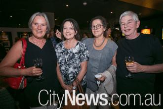 Louise Whyte, Maree Banarkel, Mary Fraser and Maureen Cummuskey