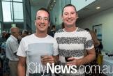 Nathan Sciberras and Steve Foley
