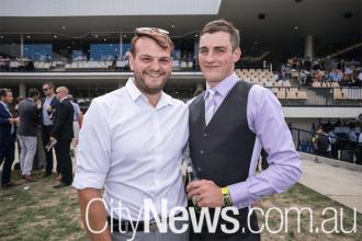 Aiden Oakley and Reece Hatcliffe