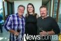 Brad Paine, Krisy Maricic and Shannon Osborne