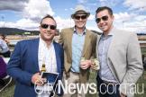 Graeme Watt, Tim Hartley and Ash Glasson
