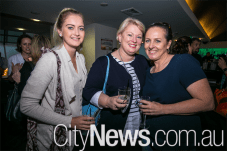 Karley Steele, Louise Curtis and Louise Bilston