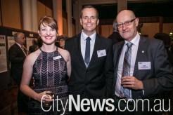 Michelle Rourke, Evan Keast and Ned Pankhurst