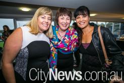 Rebecca Spradau, Helen Creigh and Omania Terry