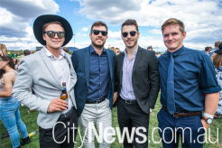 Thomson Stuckey, Charles Miller, Jack O'Toole and Matt Kelly