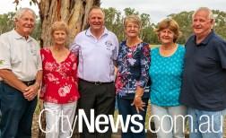 Siblings - Jacob Bink, Sue Staples, John Bink (Snr), Jenny Butler, Sylvia Foley and Peter Bink