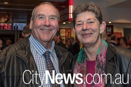 Peter Heffernan and Lorraine Bell