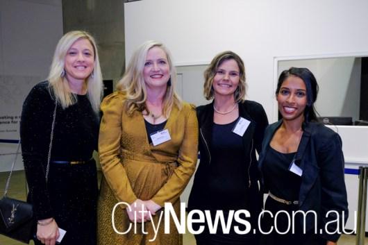 Anita Bogdanovski, Merindah Bunn, Rachel Ross and Anita Das